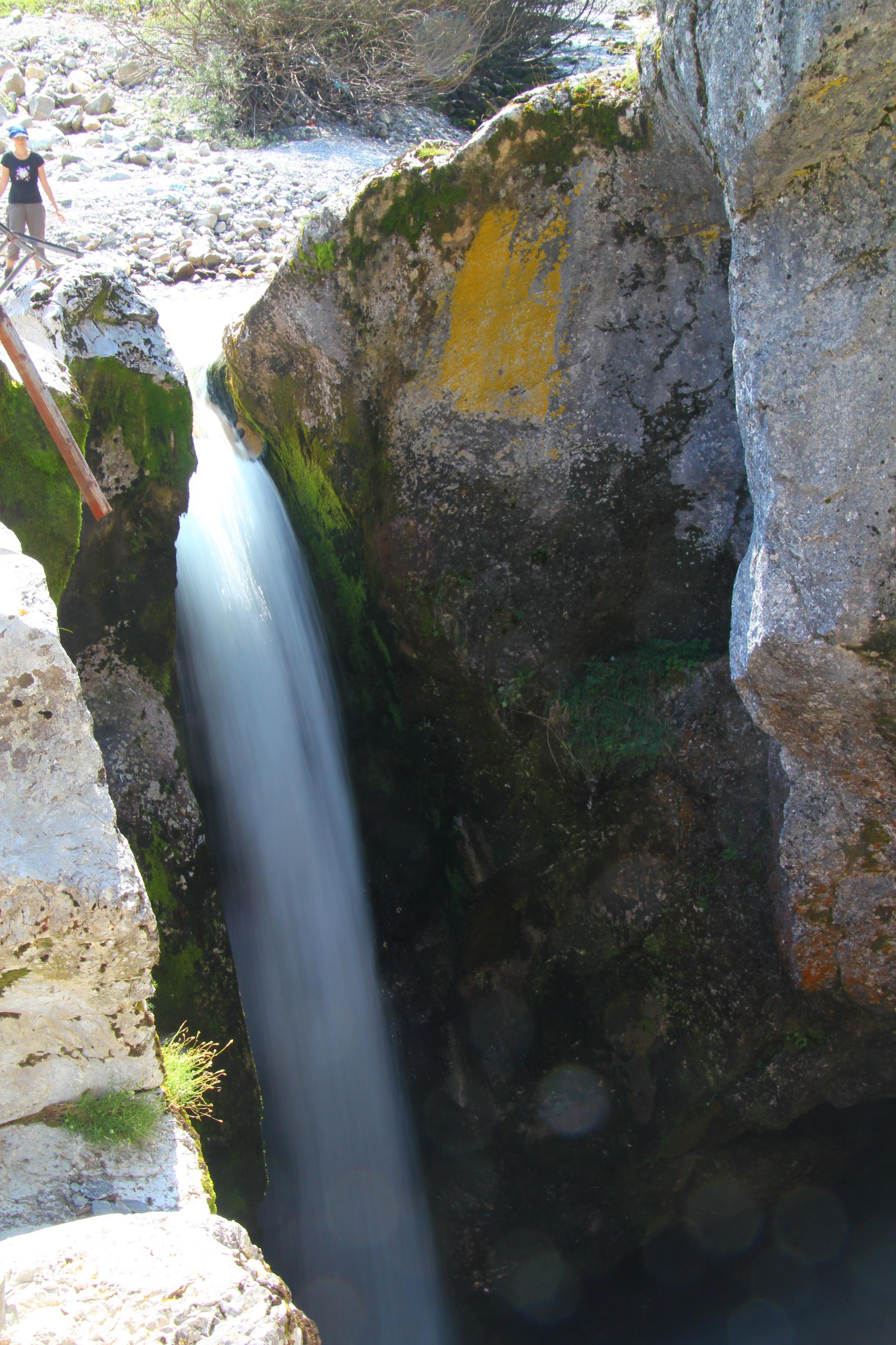 Vusanje - vodopád na Grlje