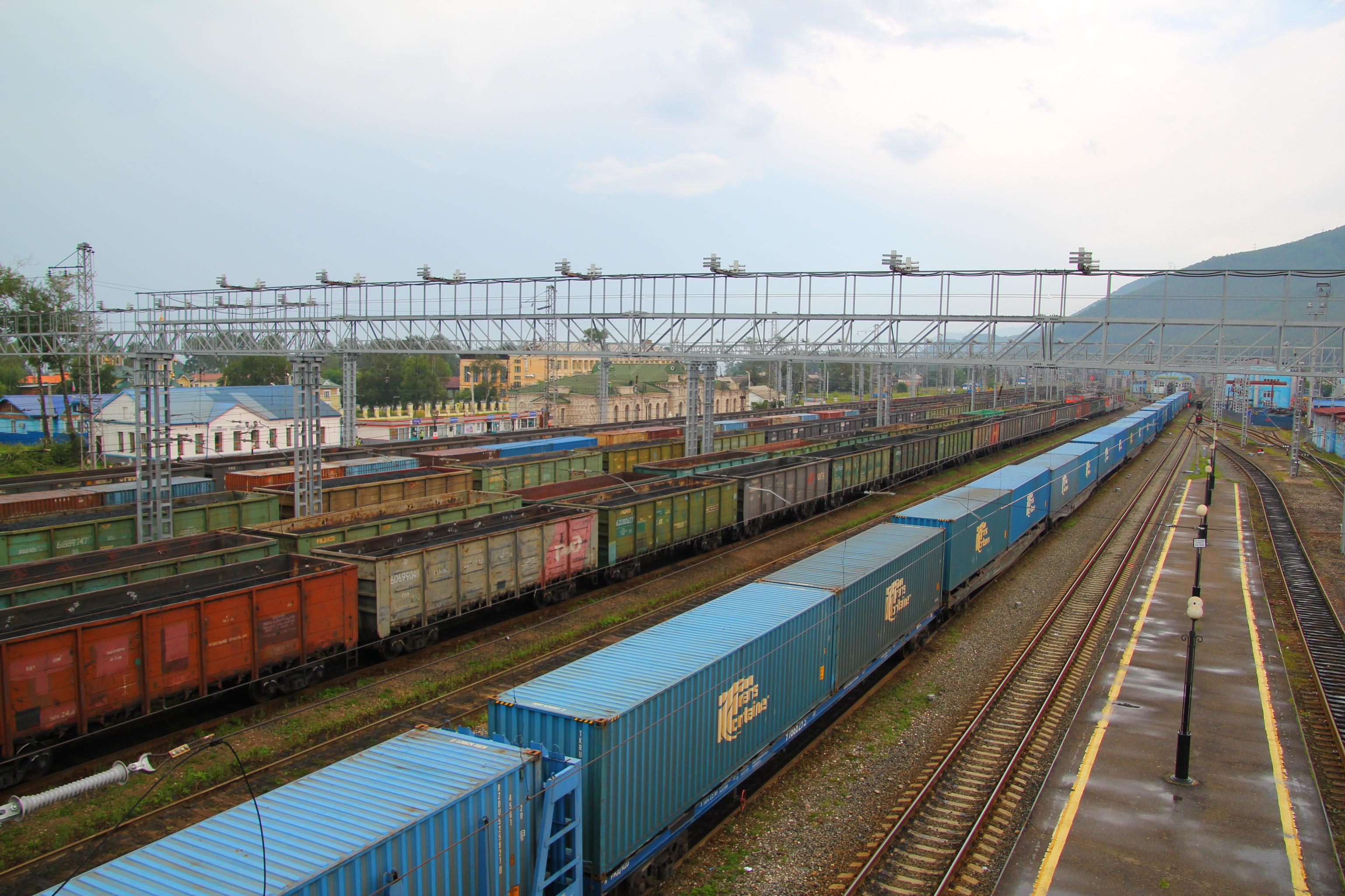 Sljuďanka (Slyudyanka, Слюдянка) - nádraží