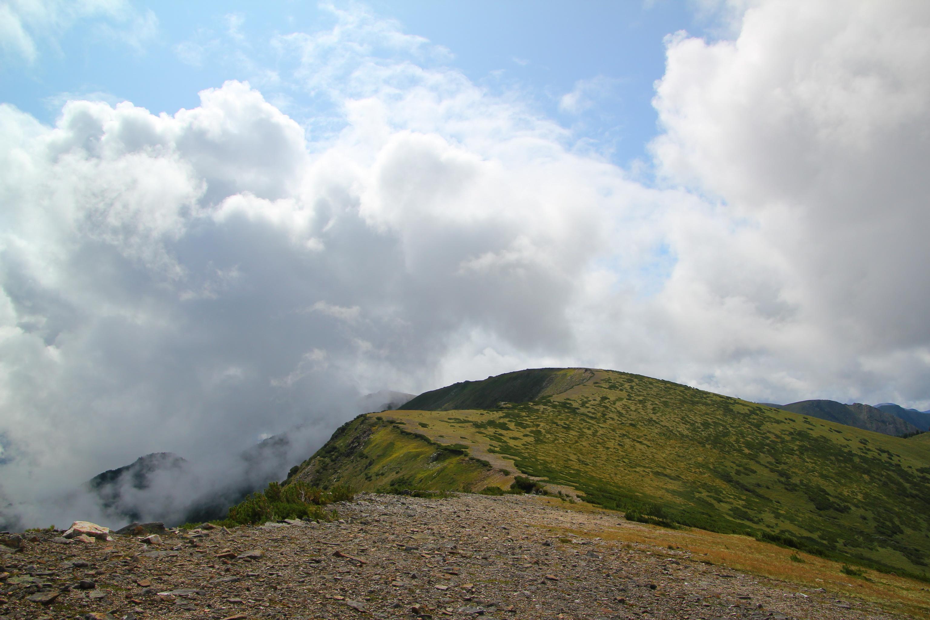 Hřeben za Čertovým jezerem