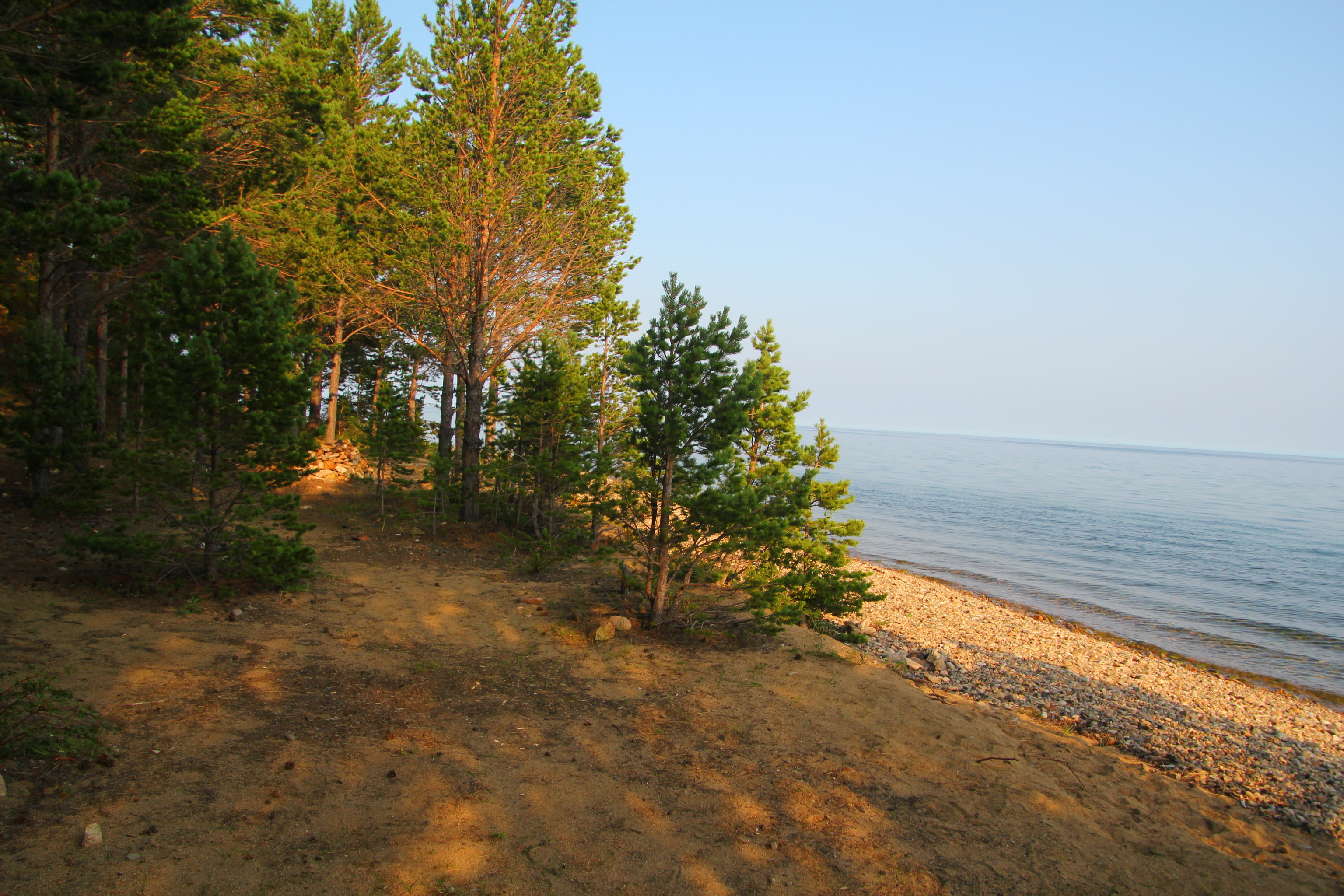 Tábořiště u Bajkalu