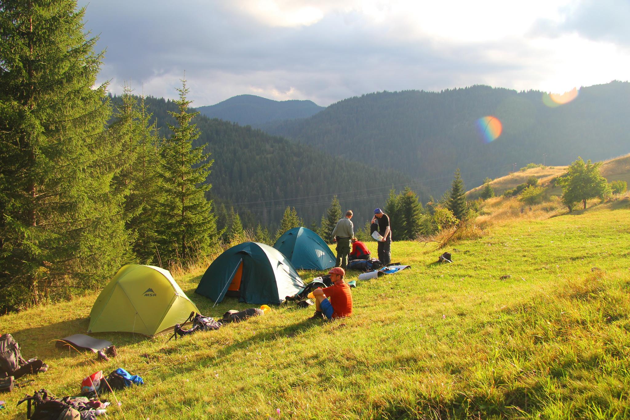 0160 - tábořiště nad vesnicí Mugla