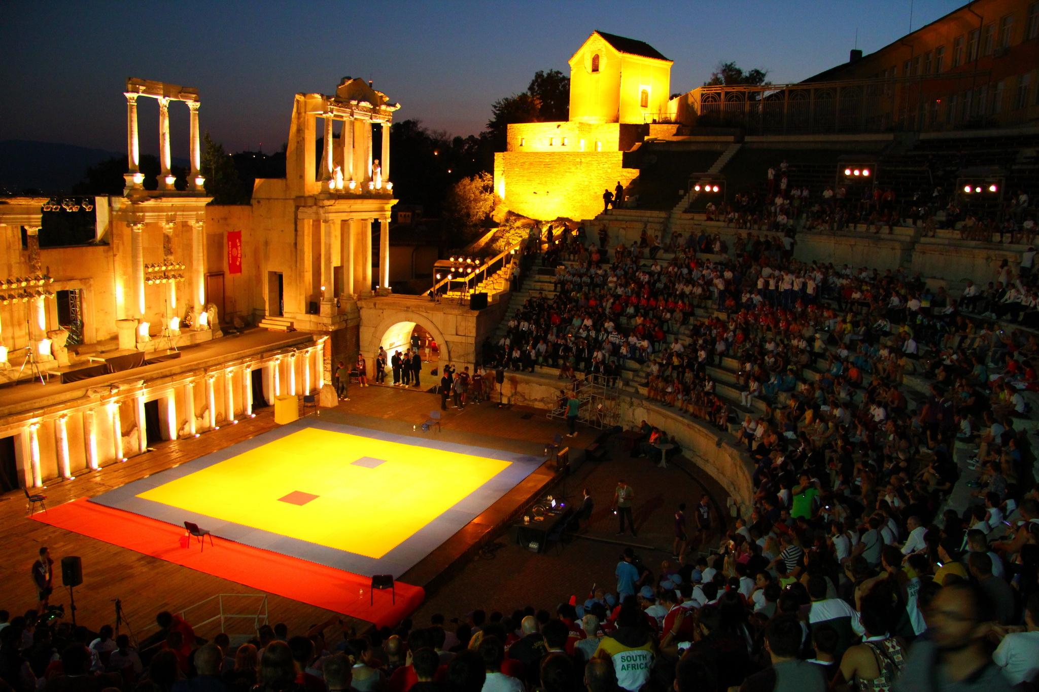 0480 - Plovdiv - Římský amfiteatr
