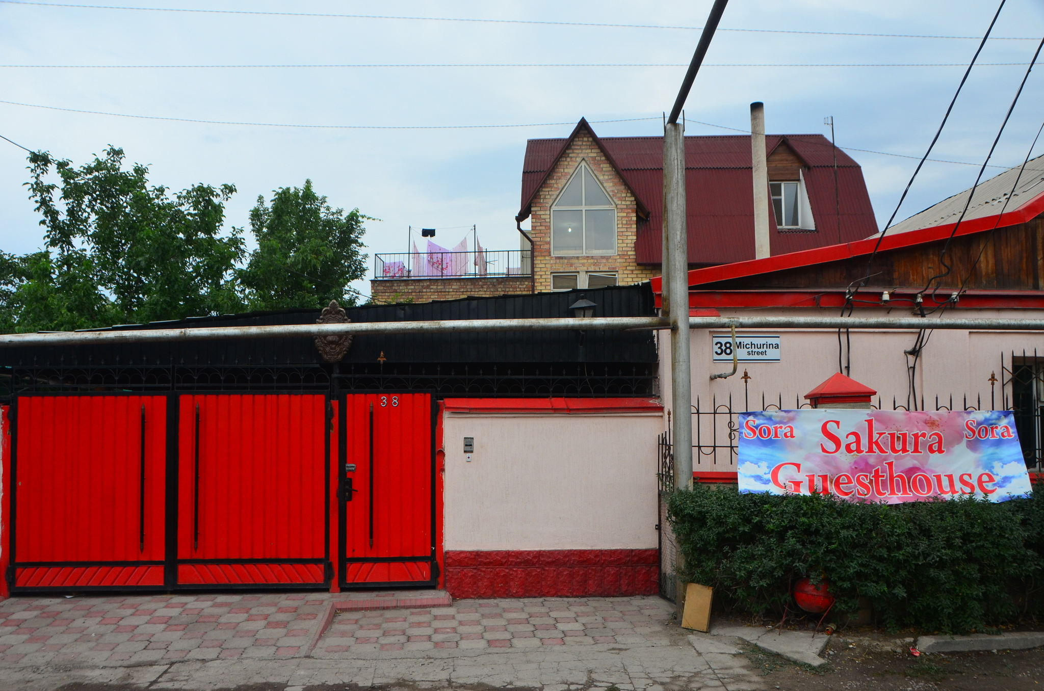 Biškek - Sakura Guesthouse