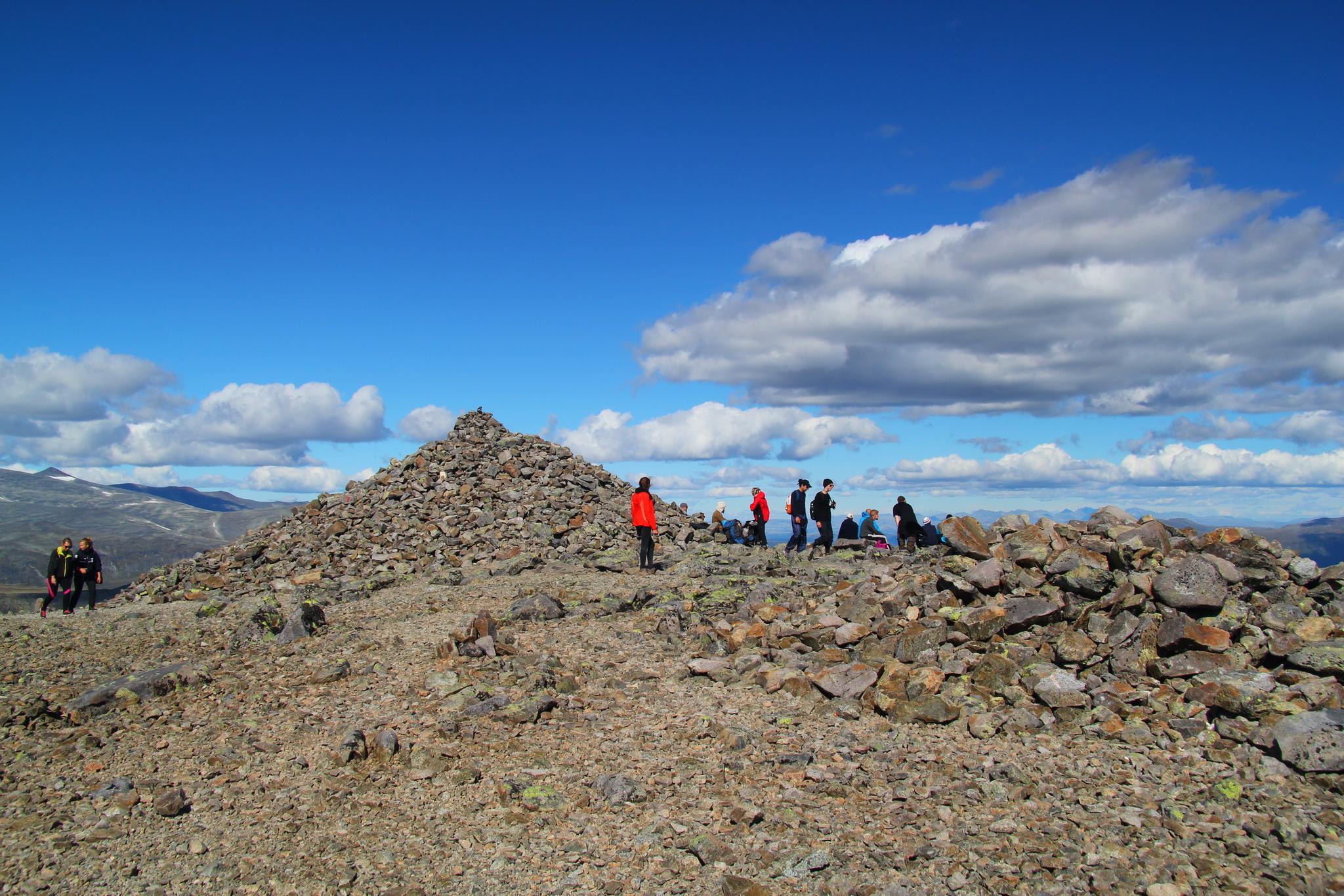 Besseggen - vrcholek