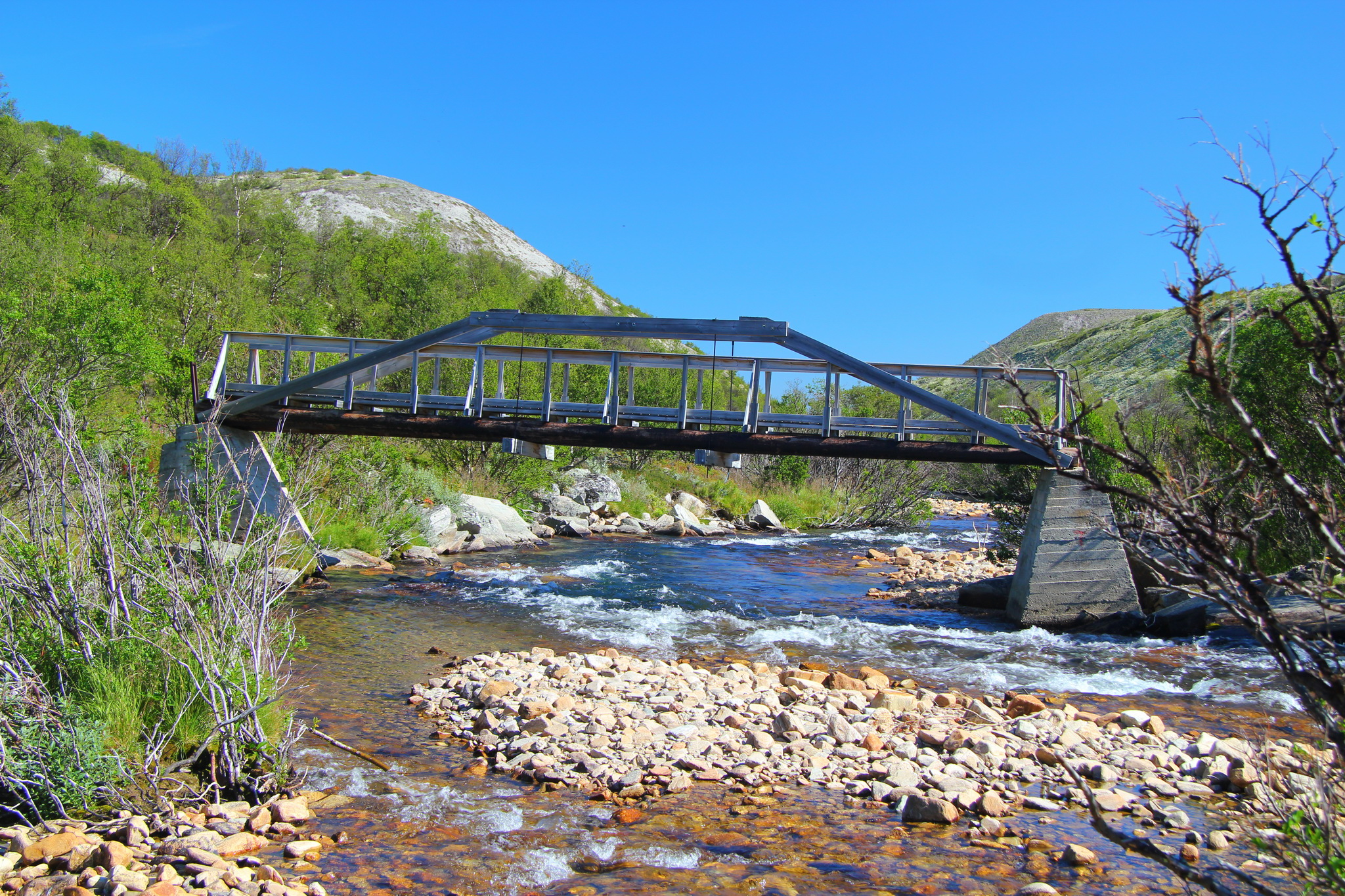 Most přes řeku Haverdalsai