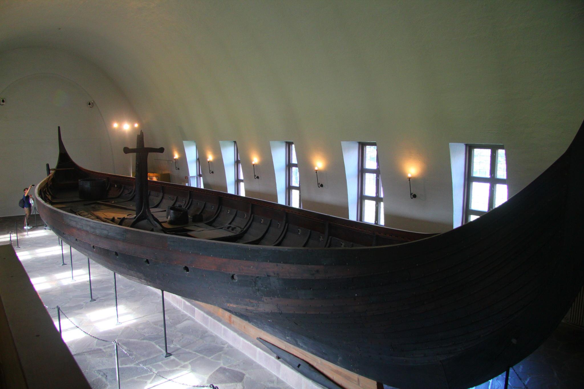 Oslo - Vikingské muzeum