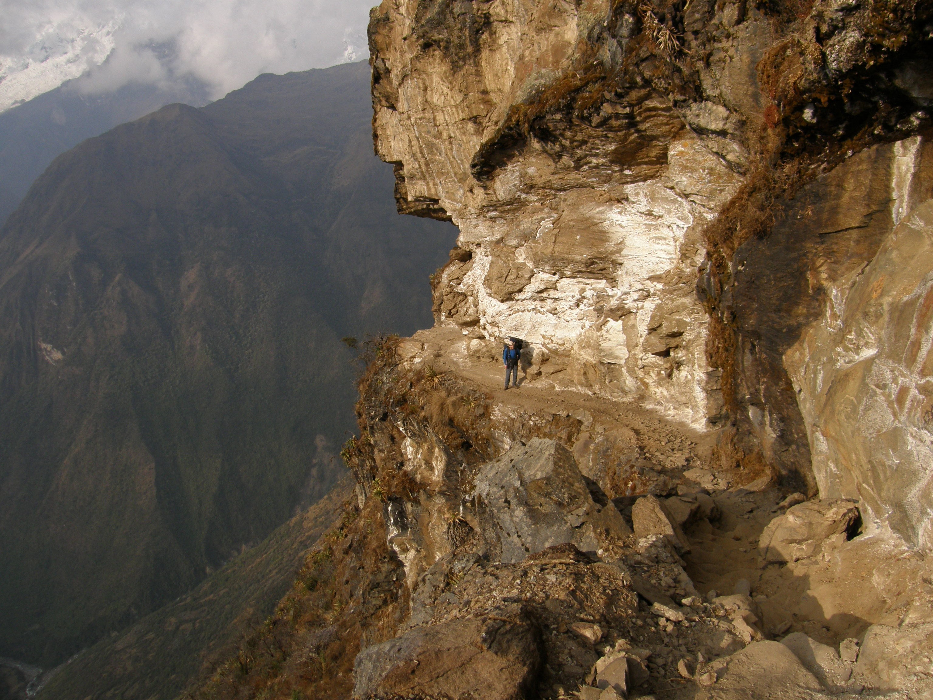 Peru - cesta nad Yanamou