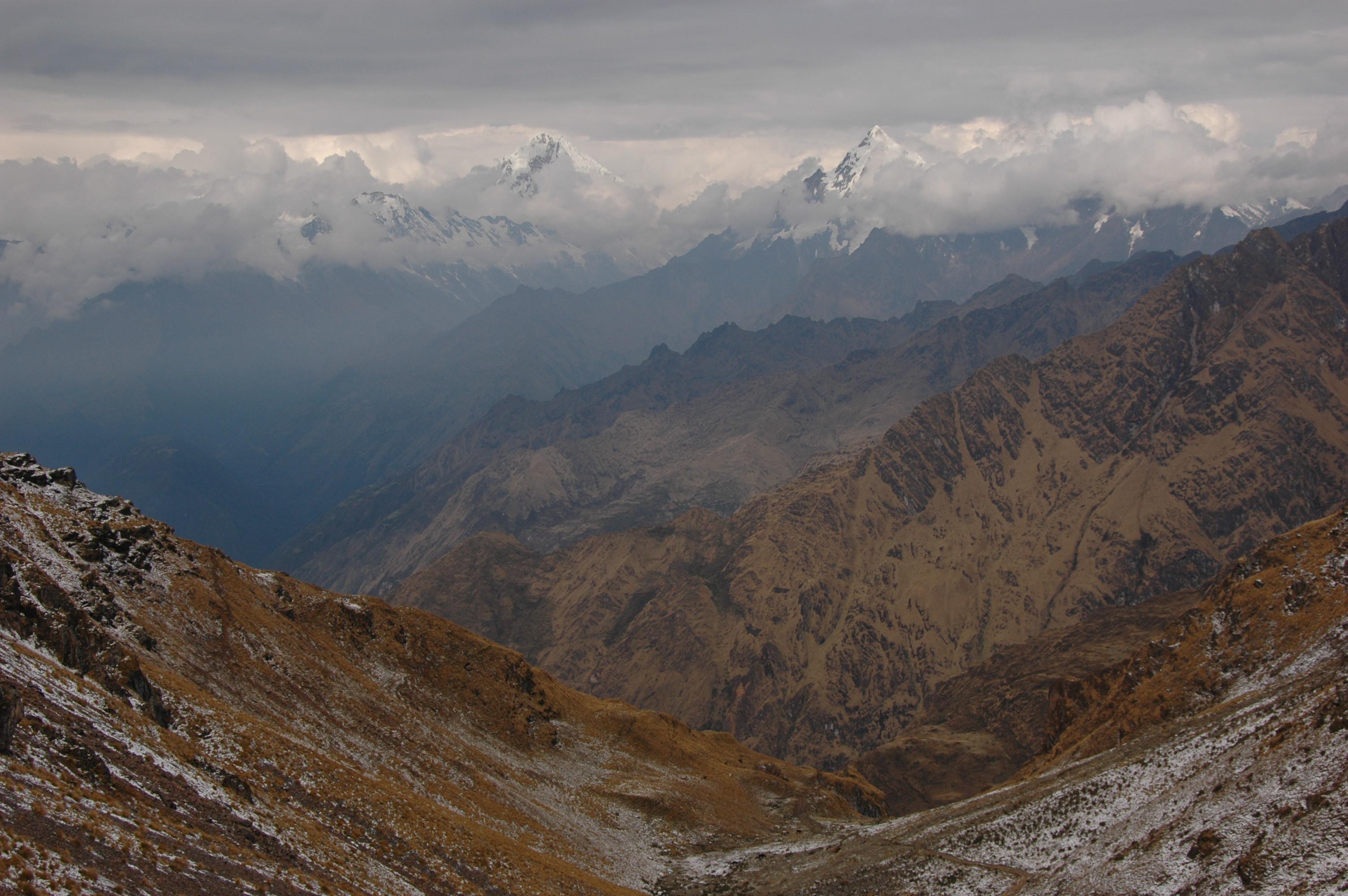 Peru - Sedlo za Yanamou 4666 m.n.m.