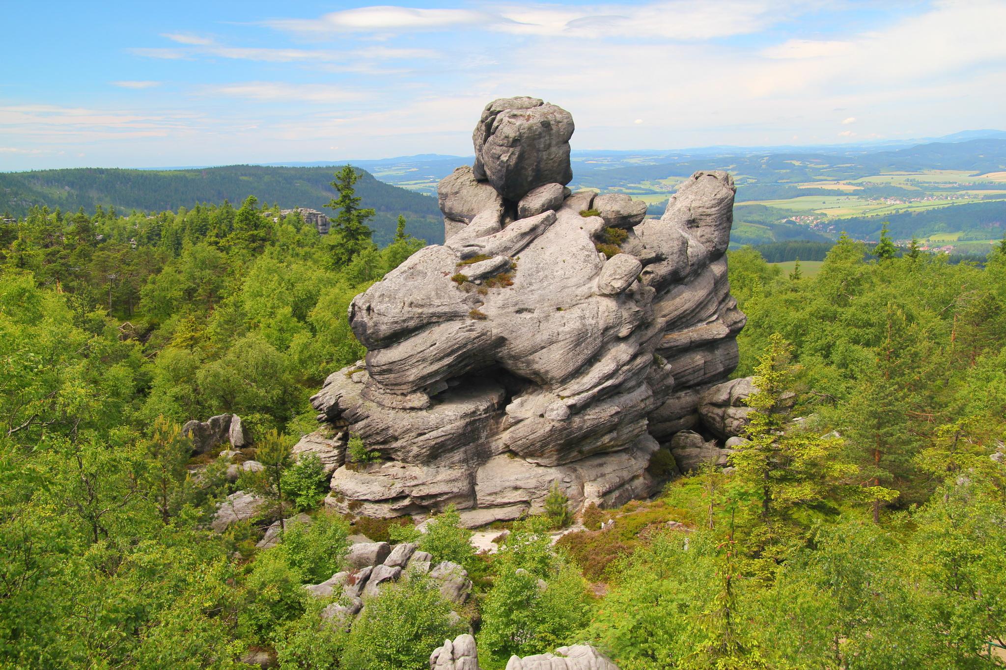 Národní park Stolových hor - Szczeliniec Wielki
