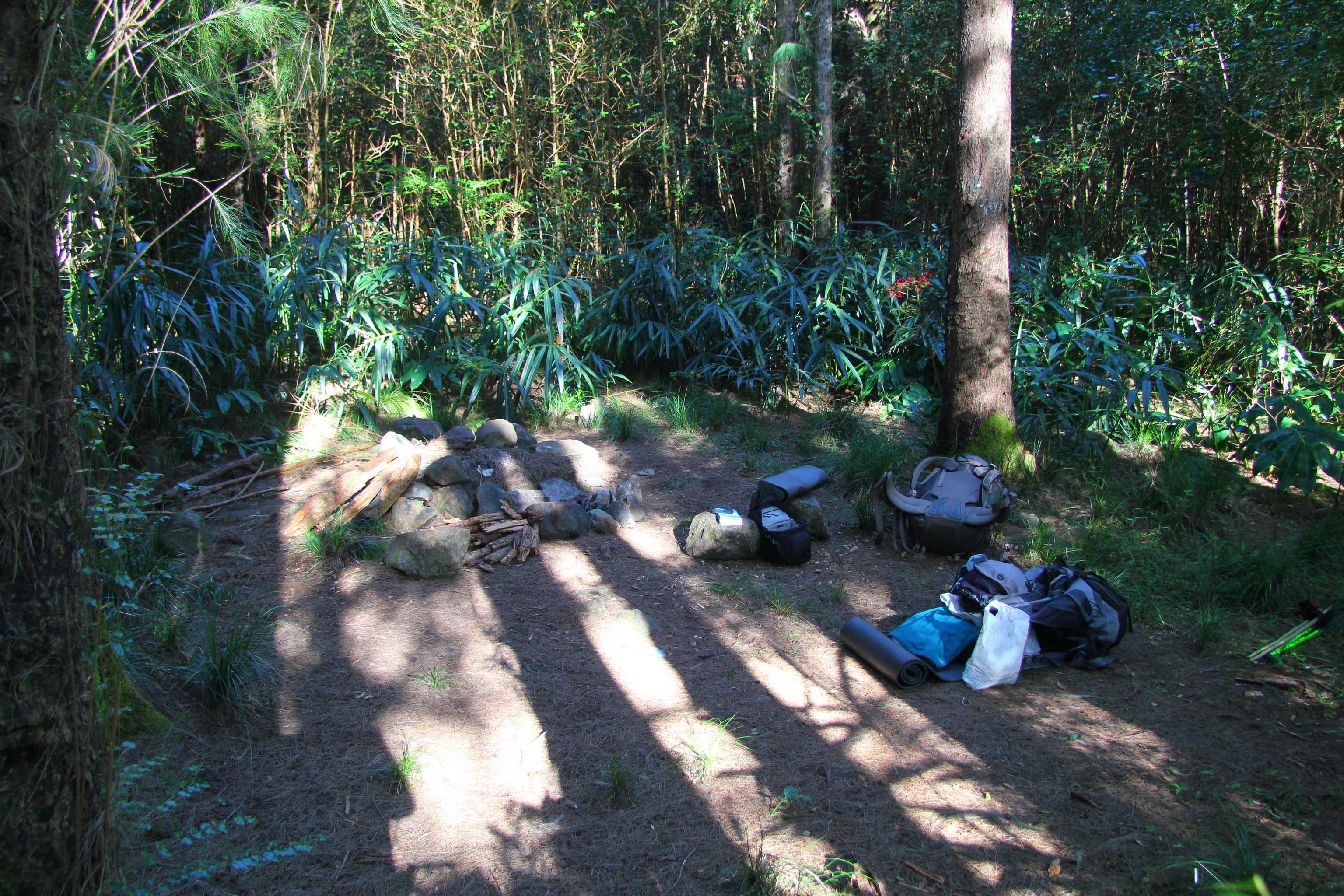 Le Grand Sable - tábořiště